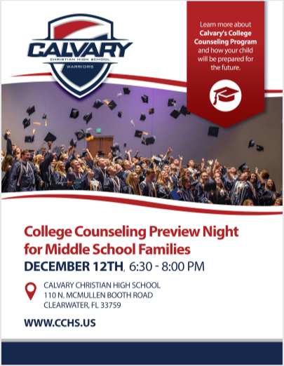 College Counseling Preview Night