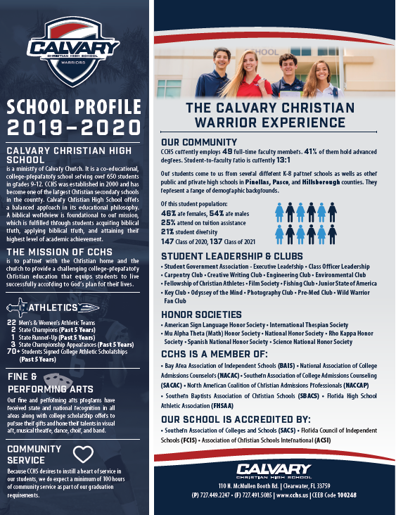 School Profile Cover