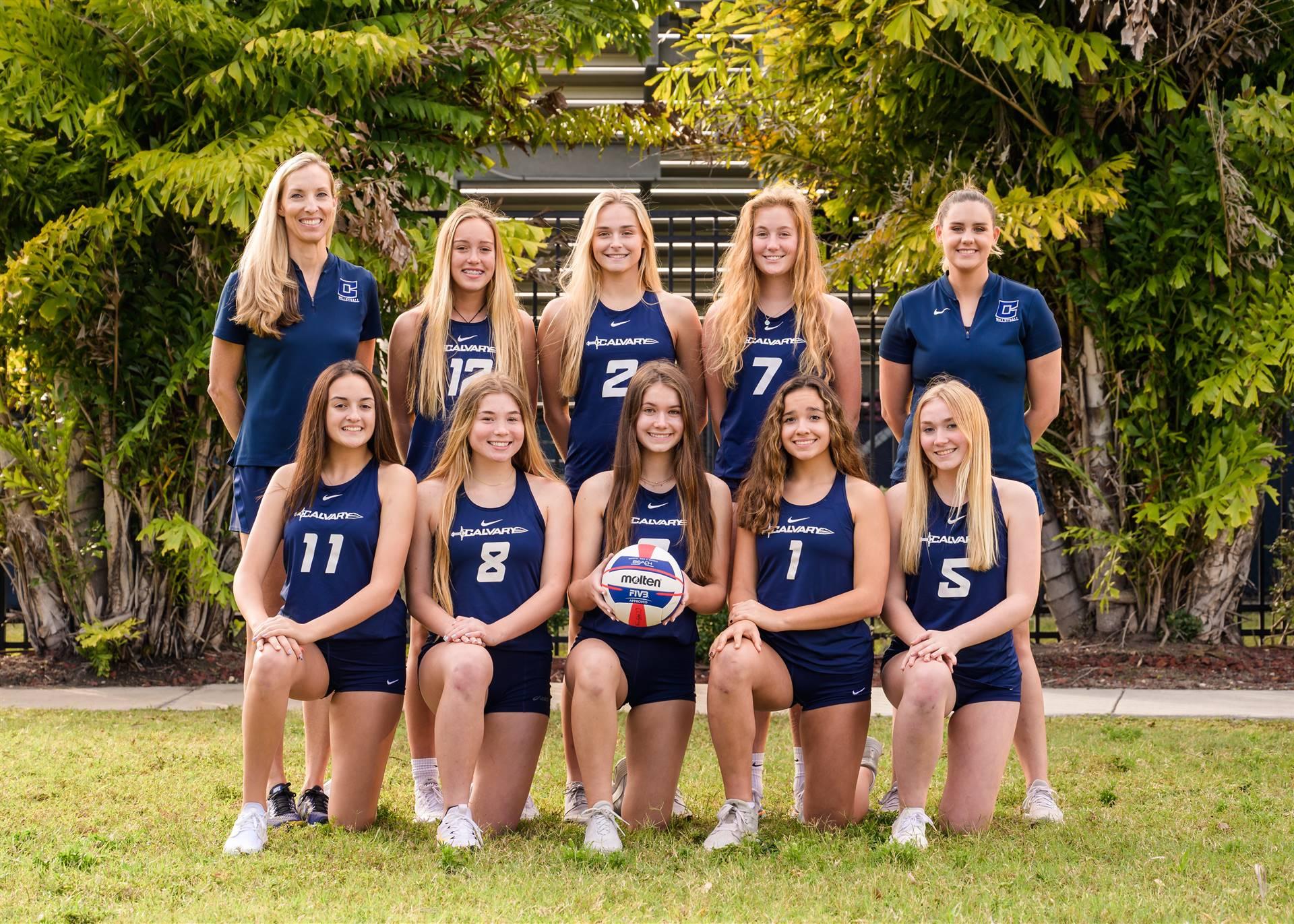 Beach Volleyball Navy Team Photo