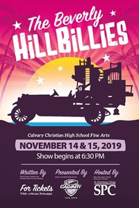 Fall Play Flyer