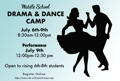 Middle School Drama and Dance Camp
