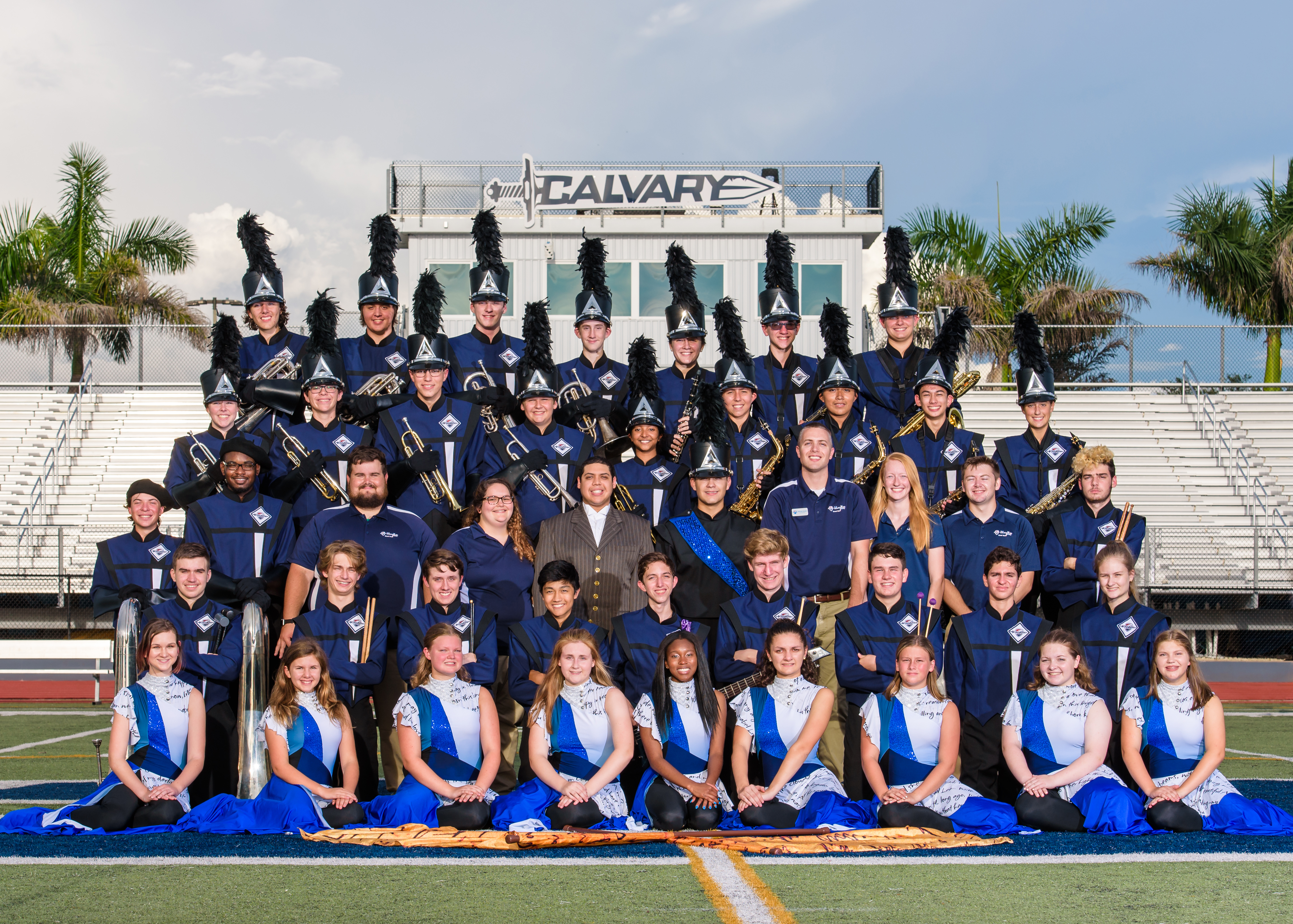 2018 Warrior Marching Band